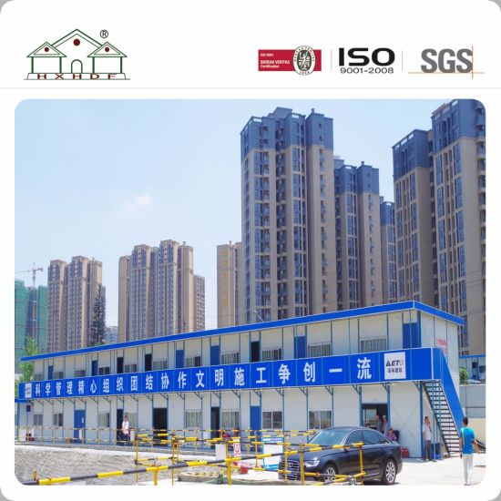 Superb Sandwich Panel 2 Floor Steel Frame Prefab House For Temporary Working  Office. Get Latest Price