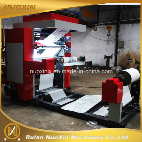 2 Colour Plastic Flexo Printing Machine pictures & photos