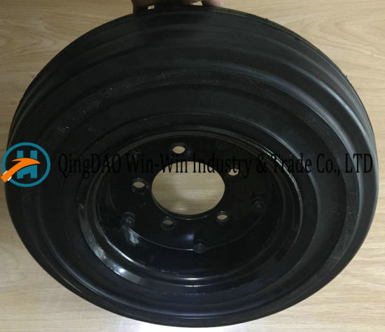 16 Inch Solid Rubber Wheel for Trailer pictures & photos
