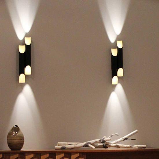 bedroom wall sconce lighting. So Wonderful Design Up \u0026 Down Indoor Aluimium Wall Sconces Lights Lamp In Black /Rose Gold For Bedroom Sconce Lighting