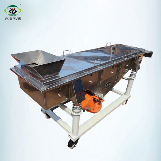 Large Capacity Vibratory Equipment Stainless Steel Linear Vibrating Sieve
