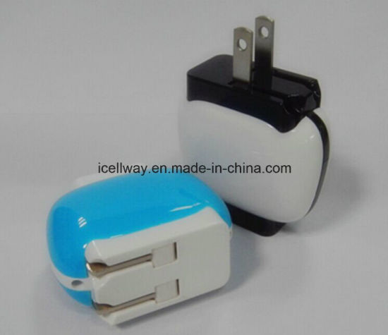 Portable USB Travel Charger UK Plug Us Plug EU Plg