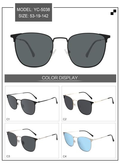 New Design Model China Factory Wholesale Acetate Frame Sunglasses pictures & photos