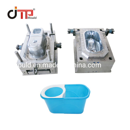 Home Bucket Refill Cleaning Plastic Injection Mop Bucket Mould
