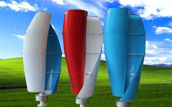 Hot Sale 400W AC 12V Vertical Spiral Axis Wind Turbine (SHJ-NEV400S)