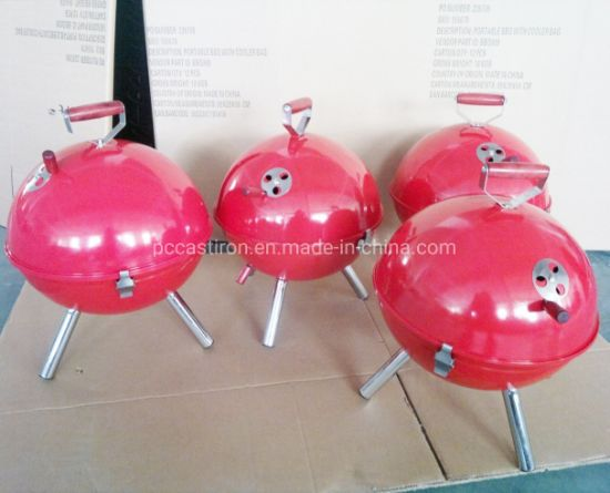 Newset Mini Round Ball Style BBQ Stoves, Charcoal BBQ Grill