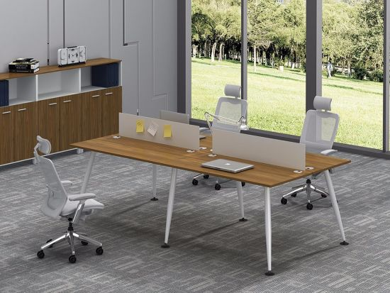 Office Furniture Metal Steel Office Staff Workstation Desk Frame with Ht76-3 pictures & photos