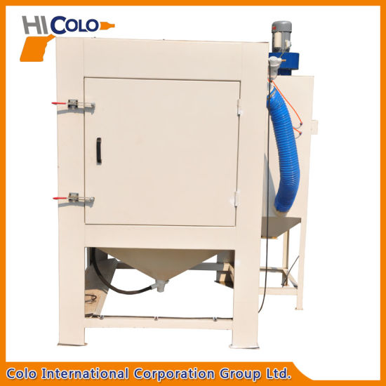 Dry Sandblasting Machine with Turntable pictures & photos