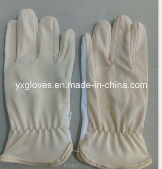 Synthetic Leather Glove-Working Glove-Safety Glove-Cheap Glove-Labor Glove pictures & photos