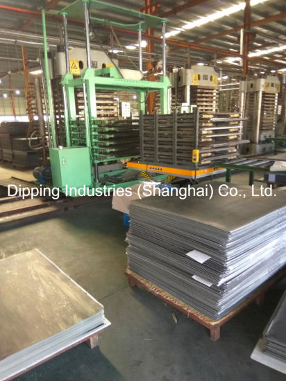 China Thermo Press Machine For PVC Floor Tiles China Thermo Press - Place and press floor tiles