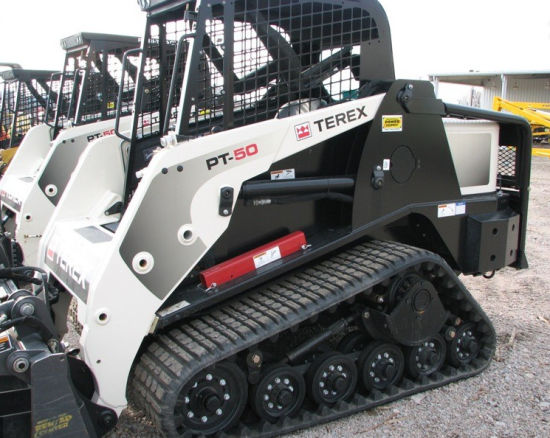 15′′x4′′x42 381*101.6*42 Compact Track Loader Track for Terex PT50 PT70 Cat 247 257 pictures & photos
