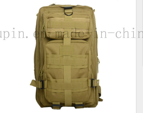 Custom Waterproof Nylon Camouflage Tactical Packsack Backpack Knapsack pictures & photos