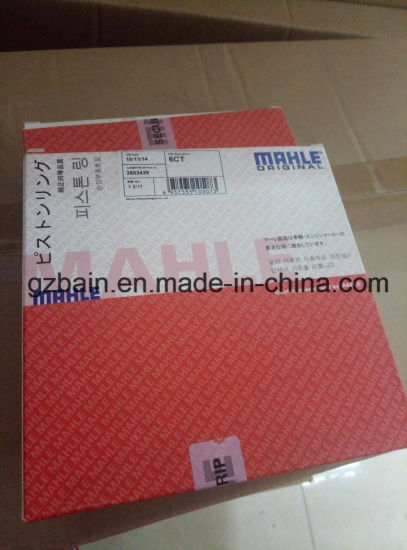 Cummins Mahle Piston Ring for Excavator Engine 6CT Model Ml-R088/3802429 pictures & photos