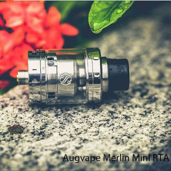 China Merlin Mini 2ml Rta, 100% Original Augvape Merlin Mini Rta