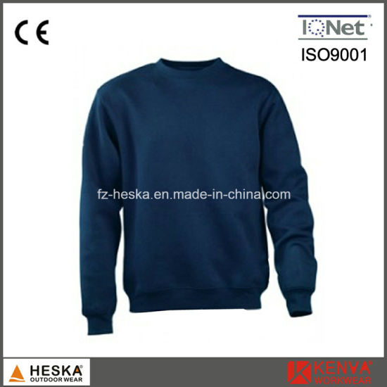OEM Mens Round Collar 100% Cotton Blank Sweatshirts pictures & photos