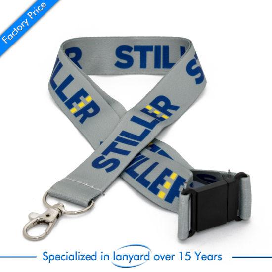 Customized School Lanyard Strap Gift ID Badge Holder Phone Holder