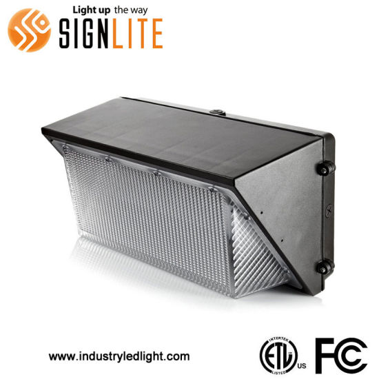 50W ETL FCC LED Wall Pack for Home Use