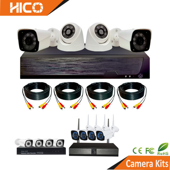 Surveillance Video System DVR NVR Wireless Full Color Turbo Kit Analog Ahd IP Poe WiFi Security Protection CCTV Camera