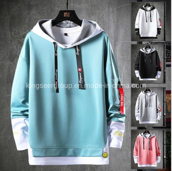 Wholesale Custom Logo 100% Cotton Unisex Oversized Fashion Boy/Men Hoody