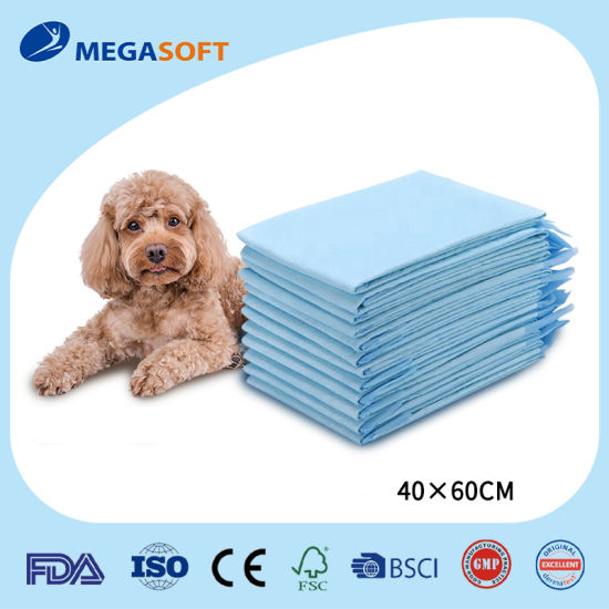 Disposable High Absorbent Training Pet Underpad for Dog and Cat 400*600 600*600 900*600
