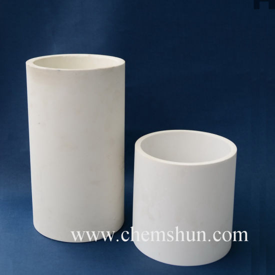 Wear Resistant Alumina Ceramic Tube Pipe Liner for Industrial Ash Removal pictures & photos