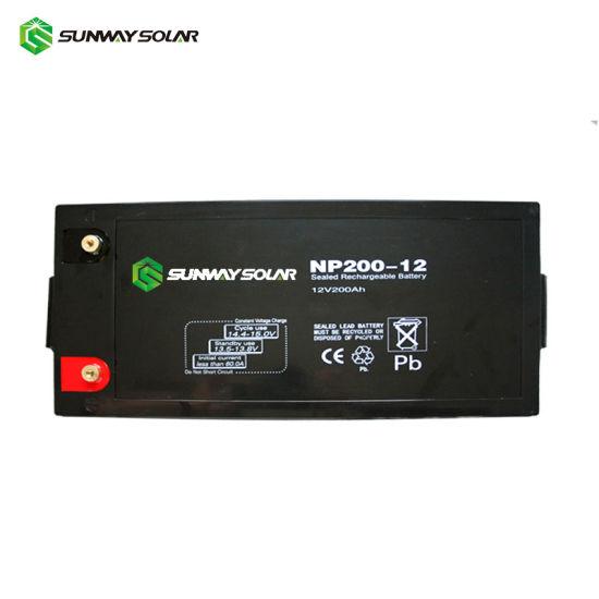 12V 200ah Deep Cycle Battery Price 24V Acid Lead Battery 200ah Energy Storage AGM Battery