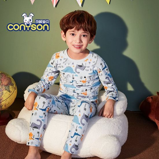 Children's Clothes Sets Spandex Cotton Sets Pajamas Spring and Autumn Kids Casual Pullover Long Sleeve Baby Clothing
