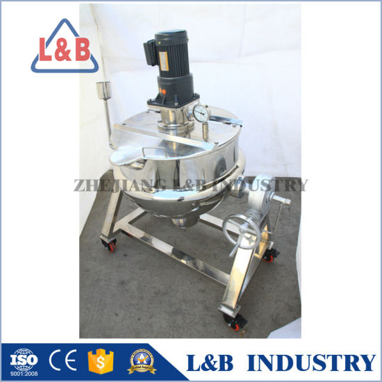 Jacketed Stainless Steel Tilting Jacket Kettle