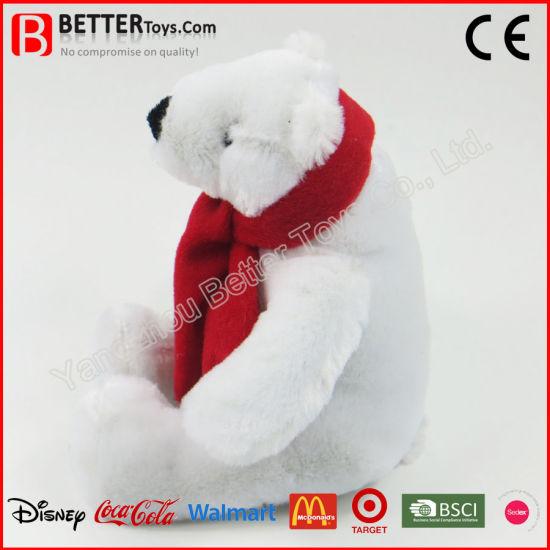 Stuff Toys 40cm Animal Polar Bear Designs Soft Plush Doll Gift Children Xmas