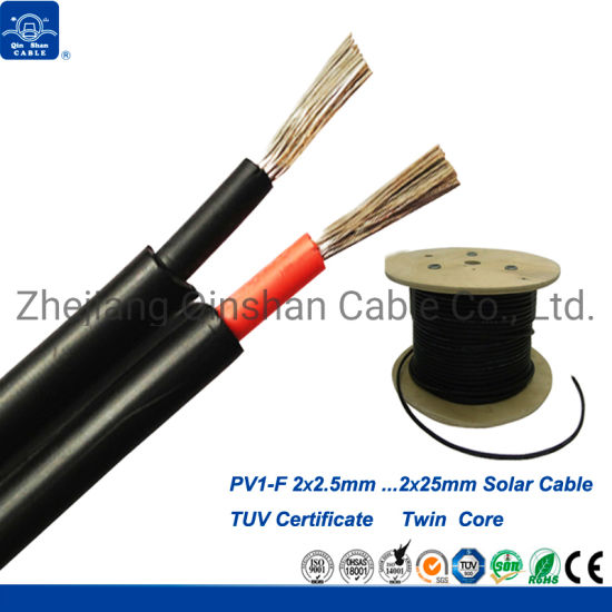 China Factory 2.5mm Solar Cable TUV Certificate for Photovoltaic System