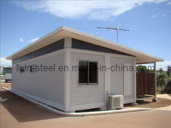Strong and Good Looking Movable Shipping Container House pictures & photos