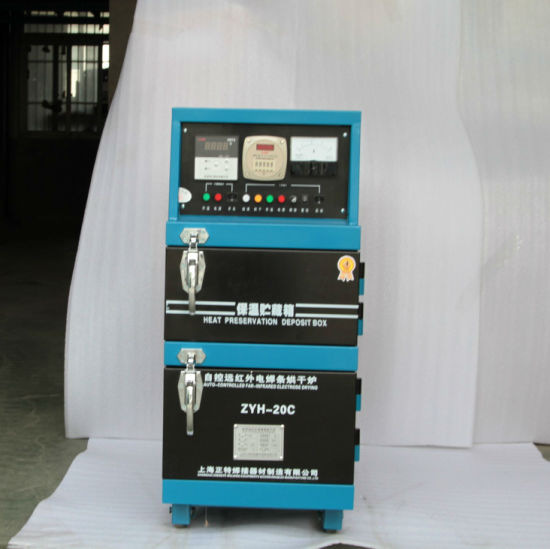 20KG capacity auto-controlled far-infrared welding electrode drying oven with storage box