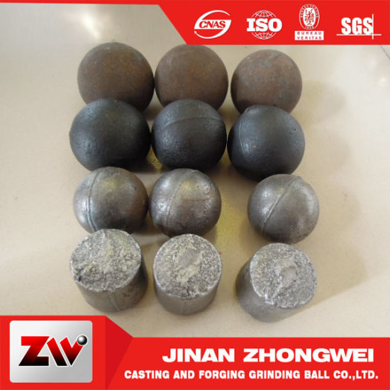 Silver Mining Cast Grinding Ball pictures & photos