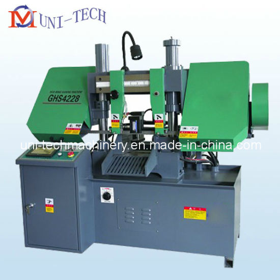 Double Column Horizontal CNC Band Saw Machine (Ghs4228, Ghs4235) pictures & photos