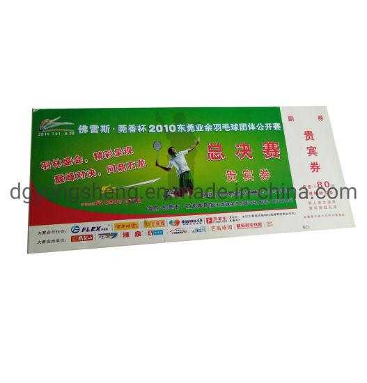 Coupon Gift Security Paper Printing