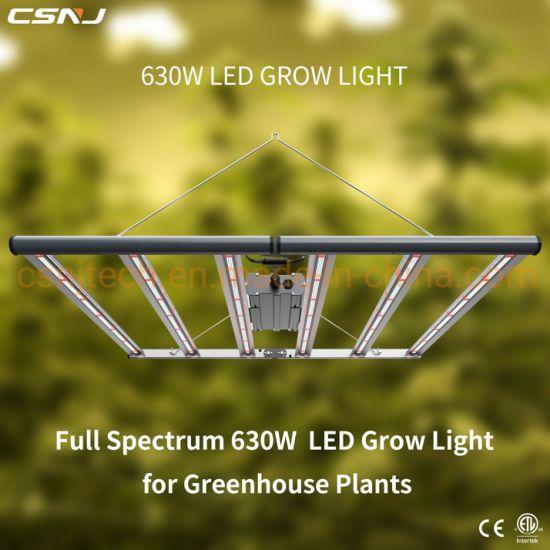 Fluence Spydr Equivalent Full Spectrum Best LED Grow Lights (630W) for Greenhouse Plants