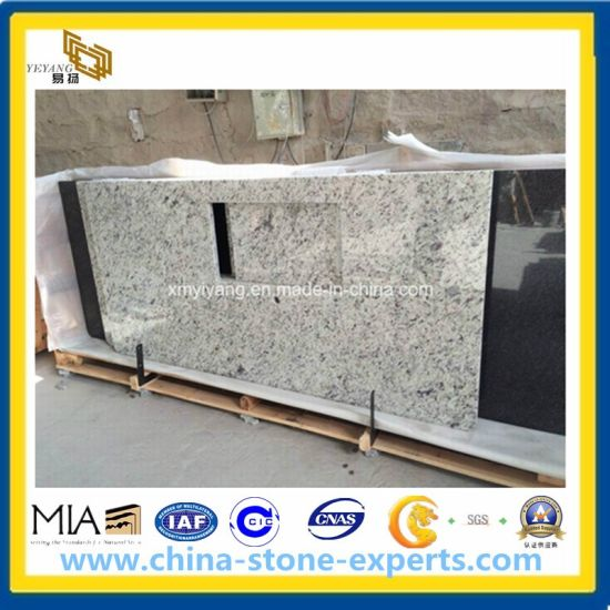 Natural White Granite Countertops for Kitchen and Vanity Top pictures & photos