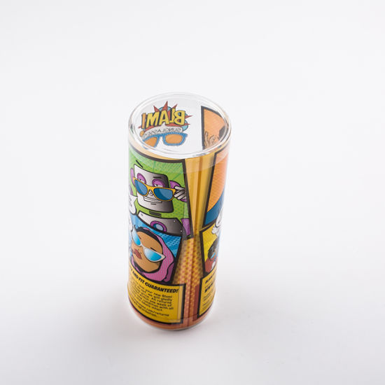 Luxury Custom Printing PVC Cylinder Packaging Box Plastic