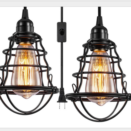 Amazon Hot-Selling Design Unique Industrial Retro Adjustable Pendant Lights