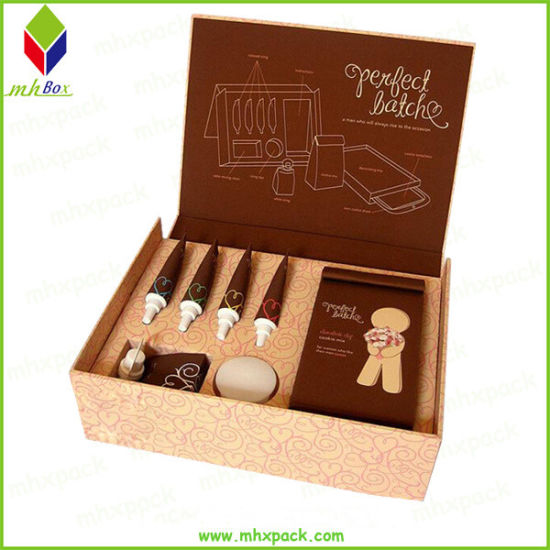 Foldable Cardboard Magnetic Rigid Paper Gift Packaging Box