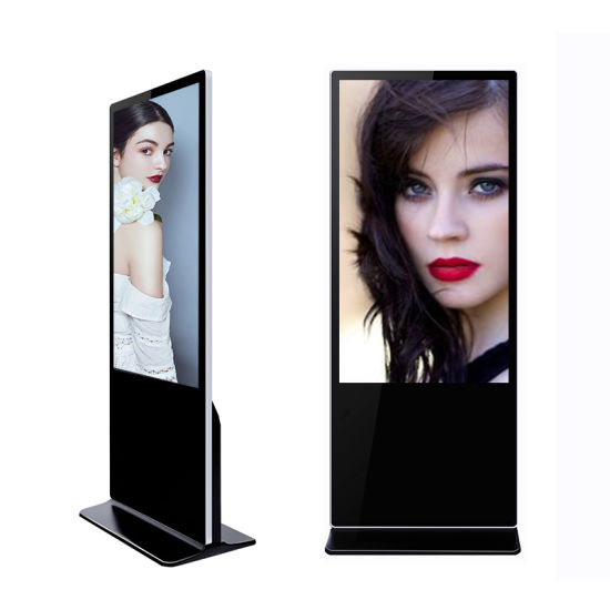WiFi Connection Equipment Mobile LCD Screen Network Advertising Machine