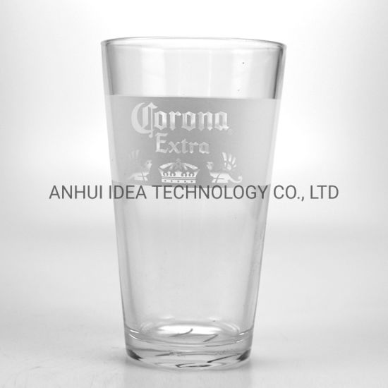 480 Ml Glass Cup Wholesale Custom Beer Pint Glasses with Logo pictures & photos