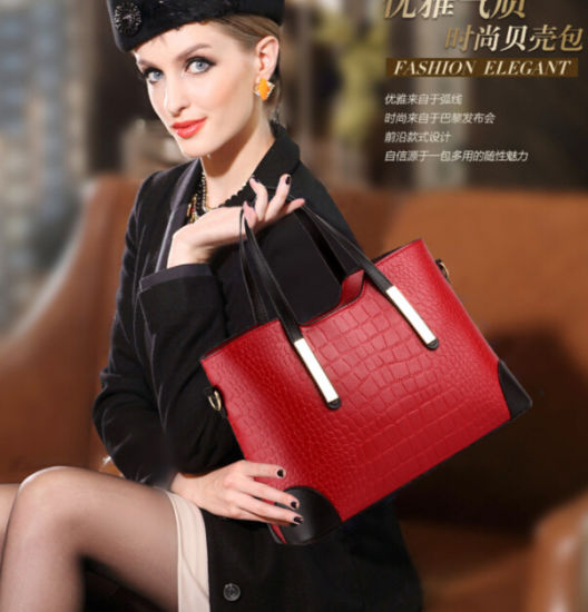 Holiday Sale Bags Women Top Handle Tote Bag Wholesale Leather Tote Purse