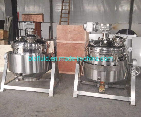 500 Liter Commerical Pressure Cooker with Mixer pictures & photos