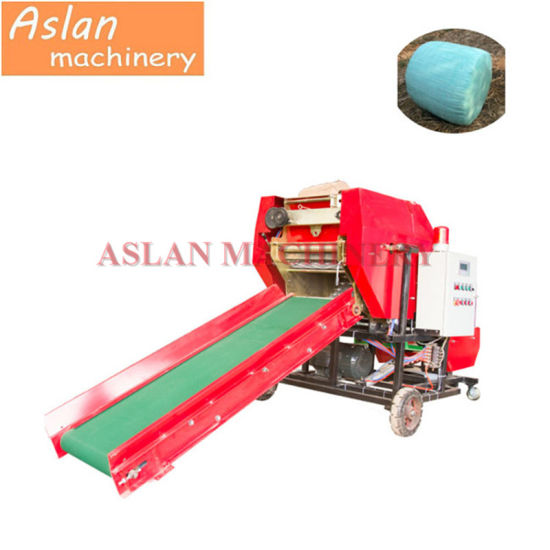 Feed Packer for Sheep/ Mini Round Baler for Silage/ New Design Grass Silage Packing Wrapping Machine