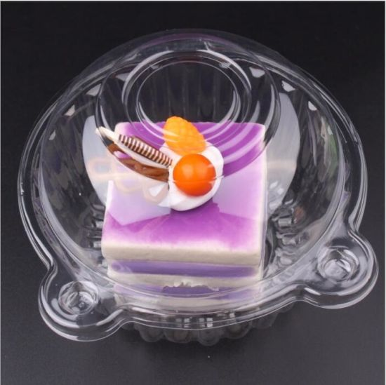 Wholesale Supplier Clear Plastic PVC Small Cookie Clamshell Blister Packaging Boxes