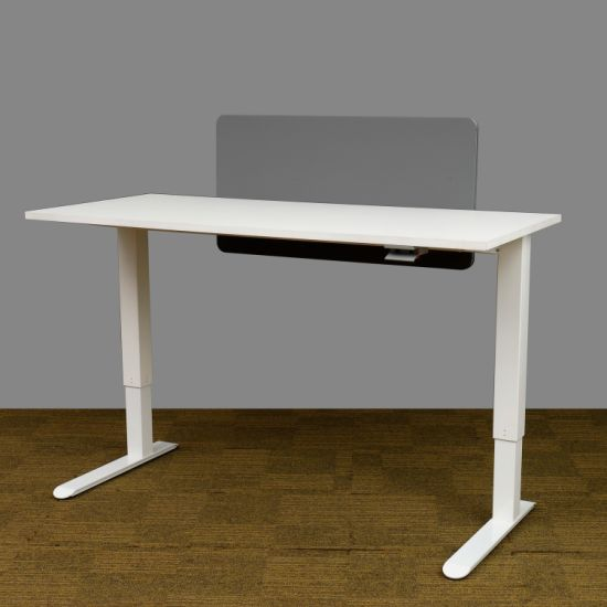 Manual Height Adjustable Sit and Stand Office Desk Computer Table (MA017)