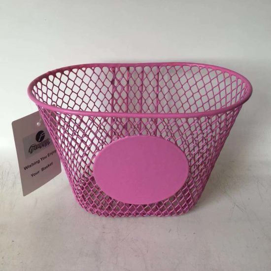 Children Steel and Mesh Bicycle Basket of Bicycle Parts