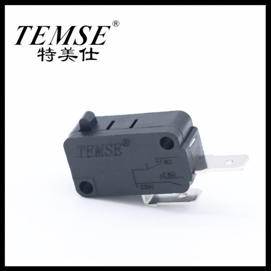 Manufactory 2pin Spst 16A250VAC Black Micro-Switch for Power Tool Parts