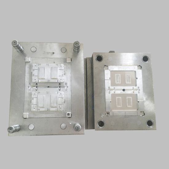 Plastic Mould Wall Switch Two Gang Plate Mould
